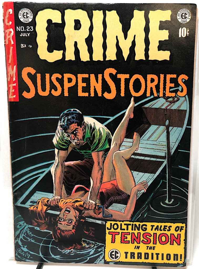 Crime SuspenStories No. 23 July 1954 published by EC Comics 1.jpg