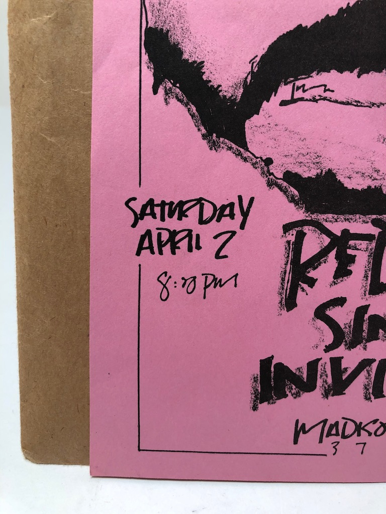 Red Kross Sin 34 Invisible Chain Saturday April 2 1983 Mason Flyer  4.jpg