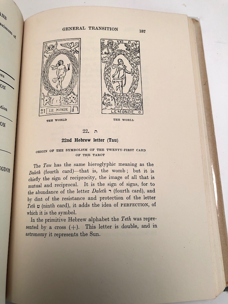 The Tarot of the Bohemians by Papus Published Arcanum Books 1965 3rd edition Hardback With DJ 14.jpg