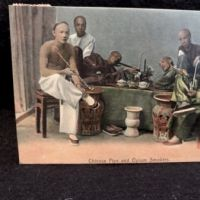 Chinese Pipe and Opium Smokers  Postcard M Sternbergn 1.jpg