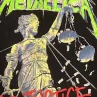 Metallica and Justice For All Tour 1989 Tour Shirt XL Spring Ford Black 5.jpg