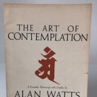 The Art of Contemplation by Alan Watts Facsimile Manuscript with Doodles Pantheon Press 1972 1.jpg