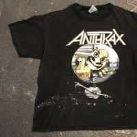 Vintage 1991 Anthrax Persistence Of Time Not Man T Shirt Brockum Tag 1.jpg