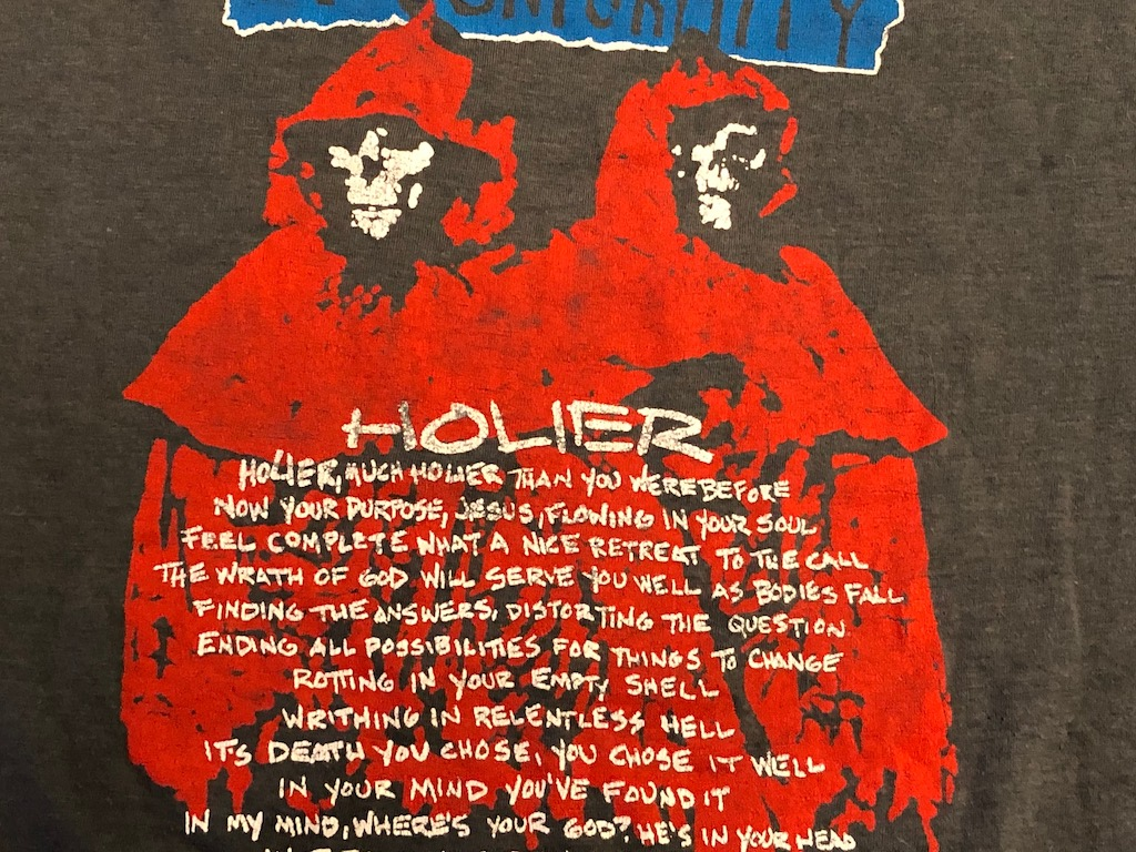 1986 Tour Shirt Corrosion of Conformity Animosity Tour Loss for Words T Shirt 10.jpg