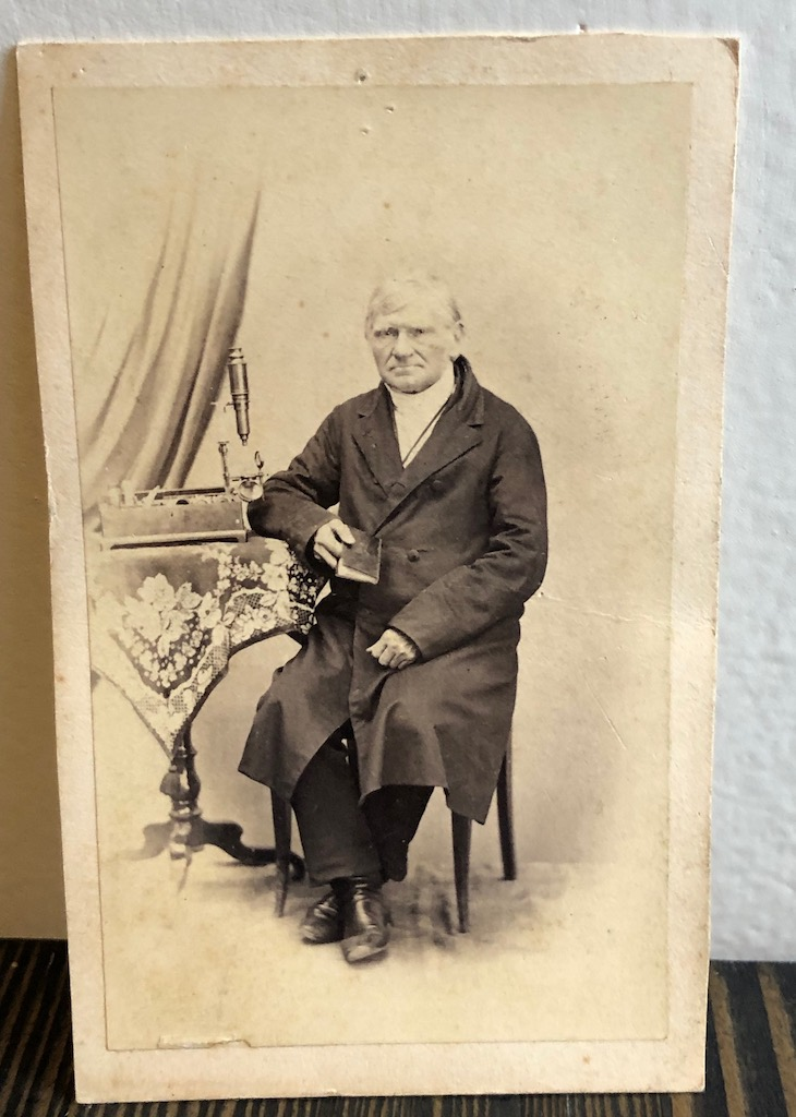 CDV Scientist with Microscope in Loing Black Jacket 1.jpg