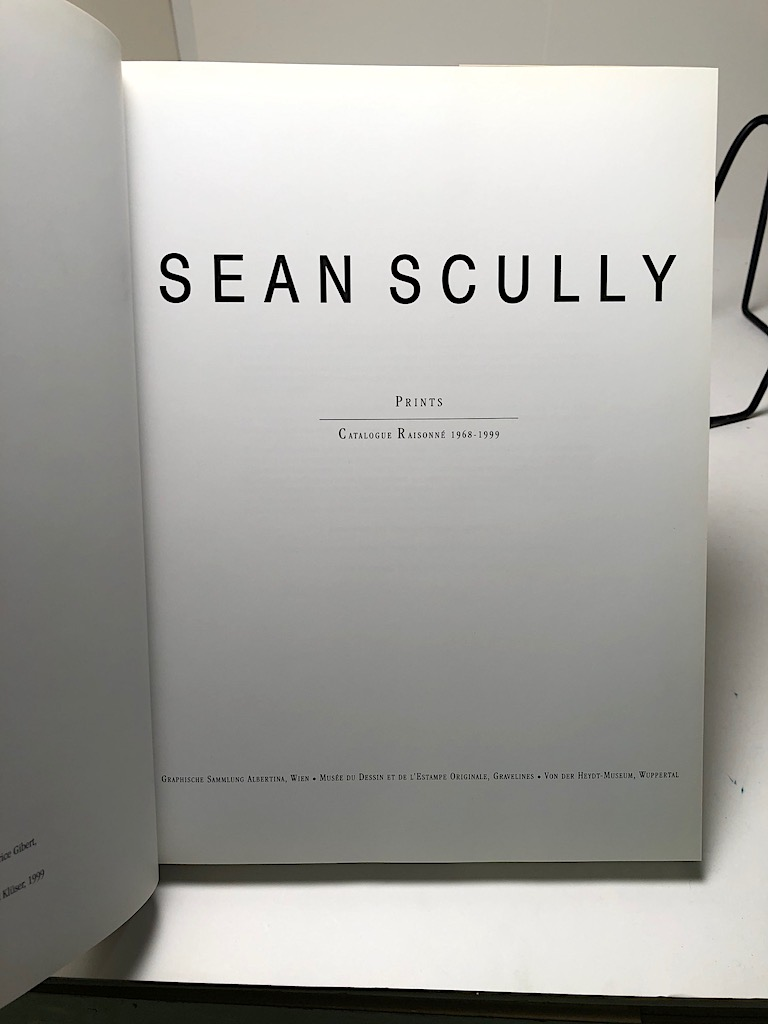 Sean Scully Prints Catalogue Raisonne 1968-1999 Hardback with Dust Jacket 8.jpg