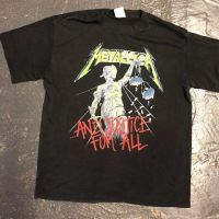 Metallica and Justice For All Tour 1989 Tour Shirt XL Spring Ford Black 1.jpg