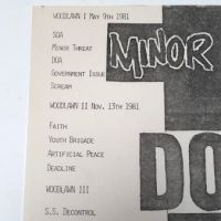 Minor Threat and DOA October 30th 1981at H.B. Woodlawn in Arlington VA Punk Flyer 4.jpg