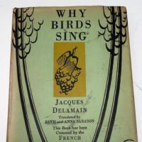 Why Bird Sing by Jacques Delamain 1st ed. hdbk Signed by Prentiss Taylor 9.jpg
