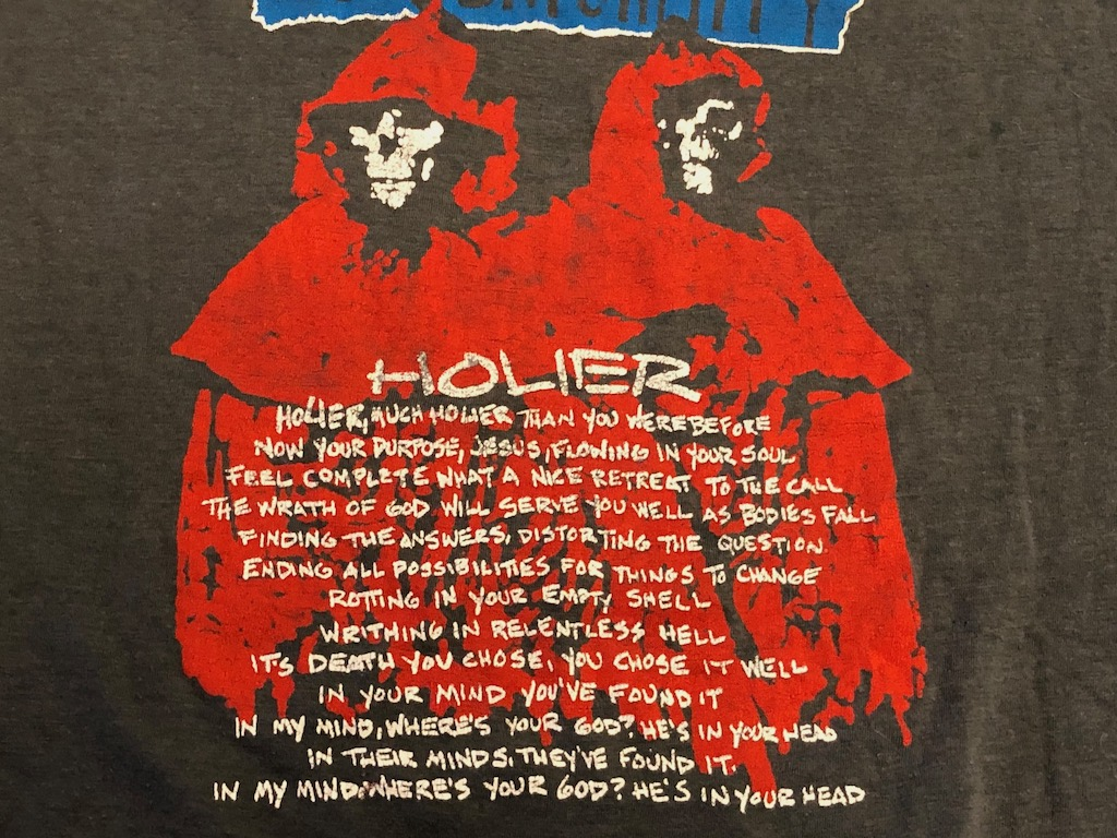 1986 Tour Shirt Corrosion of Conformity Animosity Tour Loss for Words T Shirt 11.jpg