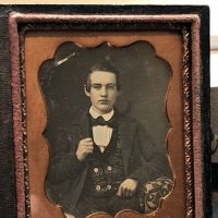 Daguerreotype of Young Dandy Posed with Style Ninth Plte Size Case Image 1.jpg
