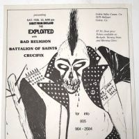 Exploited With Bad Religion Battalion of Saints Satureday Feb. 12th 1983 7.jpg