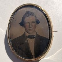 Gold Filled Broach Hand Tinted Tintype Young Man Portrait 2.jpg