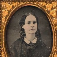 Ninth Plate  Daguerreotype in Case By Tyler and Co. Boston Woman Portrait in Ornate Mat 6.jpg