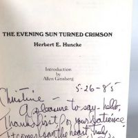 Signed Herbert Huncke Evening Sun Turned Crimson Cherry Valley Edititions 11.jpg