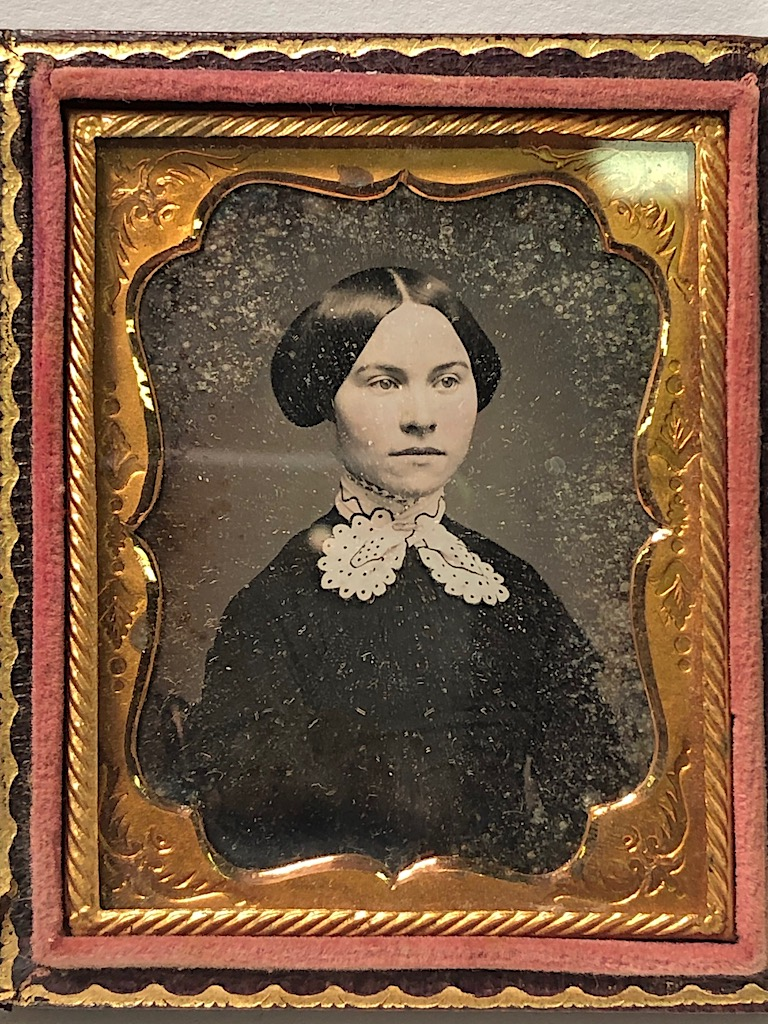 Ninth Plate Daguerreotype Hand Tinted Woman with Large White Lace Collar 8.jpg