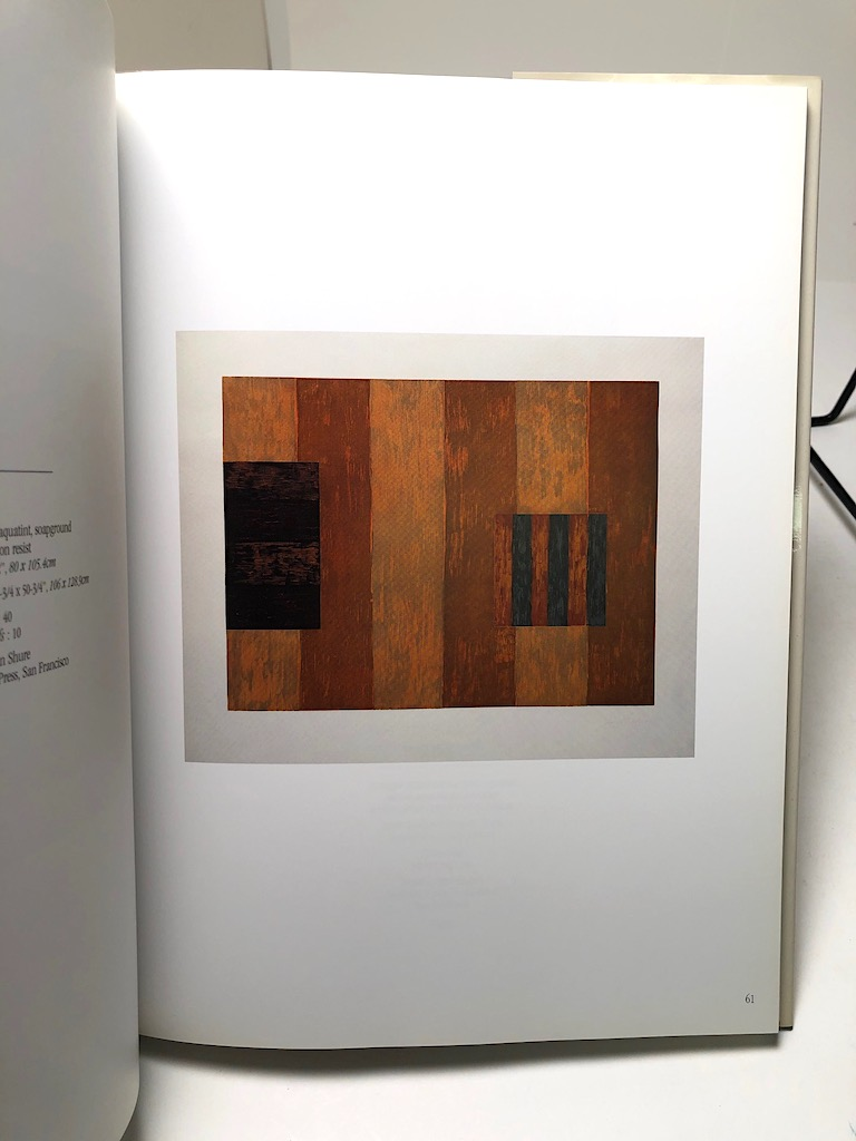 Sean Scully Prints Catalogue Raisonne 1968-1999 Hardback with Dust Jacket 10.jpg