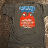 1986 Tour Shirt Corrosion of Conformity Animosity Tour Loss for Words T Shirt 12.jpg