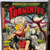 he Tormented No. 1 July 1954 published by Sterling Comics 1.jpg