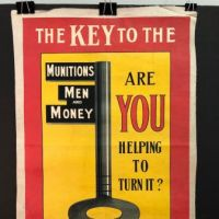 The Key to The Situation Munitions Men and Money WWI Poster 1.jpg