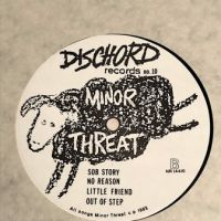 Minor Threat Out of Step on Dischord Records no 10 45 RPM  Black Back Cover 1st Pressing 12.jpg