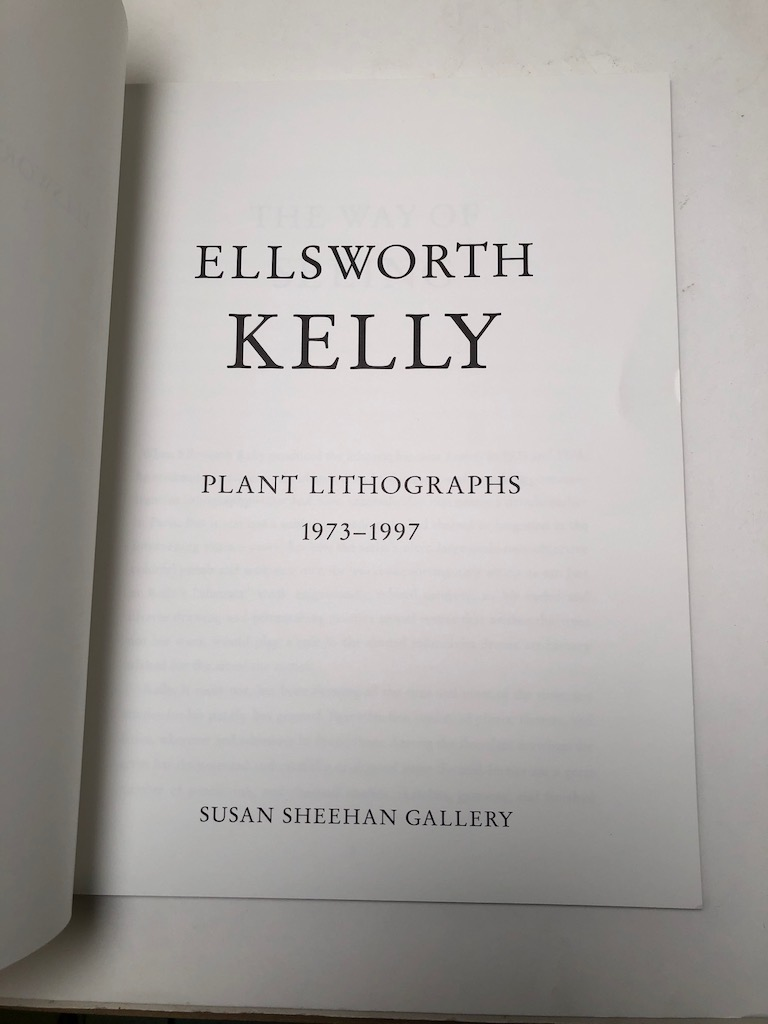 Ellsworth Kelly Plant Lithographs 1973-1997 Susan Sheehan Gallery 5.jpg