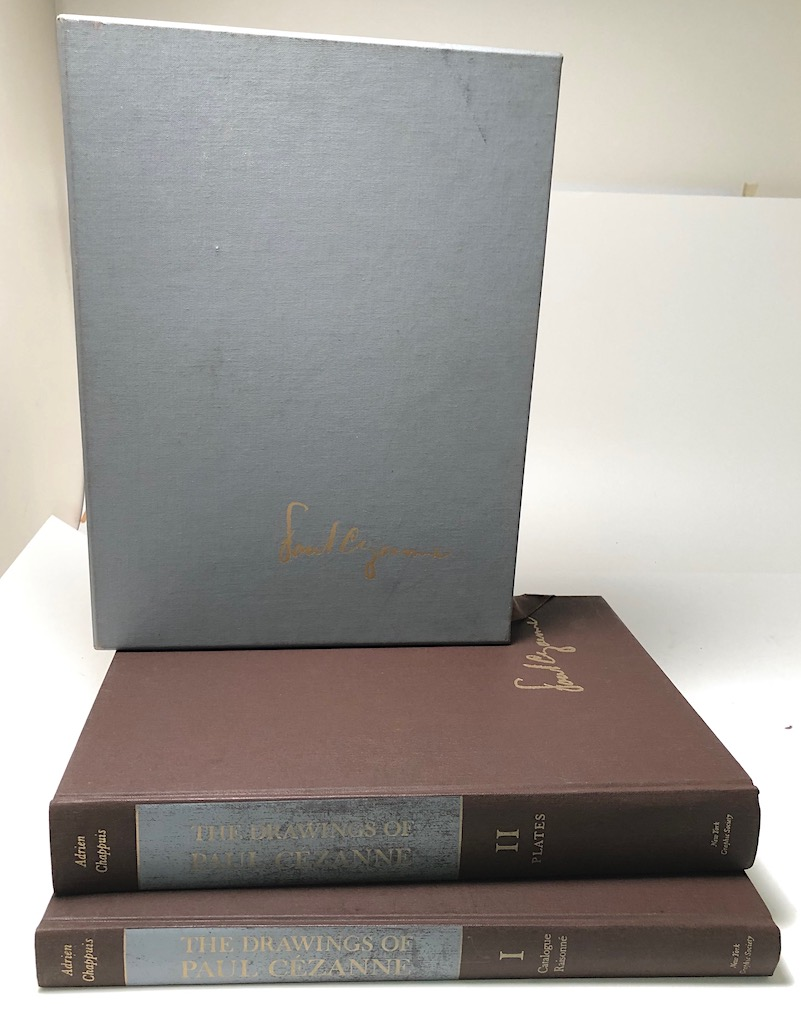 The Drawings of Paul Cezanne a Catalogue Raisonne by Adrien Chappuis 2 volumes in slipcase Pub by New York Graphics Society 1973 4.jpg