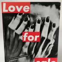 Love for Sale by Barbara Kruger pub by Abrams 1990 Hardback 1.jpg