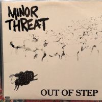 Minor Threat Out of Step on Dischord Records no 10 45 RPM  Black Back Cover 1st Pressing  1.jpg