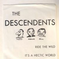 The Descendents Ride The Wild on Orca Productions – 001 Pinsicato Records Sleeve 1.jpg