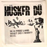 2nd Single Husker Du In a Free Land on New Alliance Records – NAR 010 Near Mint Sleeve and Record 1982 1.jpg