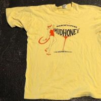 Mudhoney Tour Los Playboys International Tour Shirt Large Yellow 1992 1.jpg