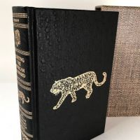Hunting The African Leopard jim Kirkhoff Signed Numbered witih Slipcase Amwell Press 1.jpg