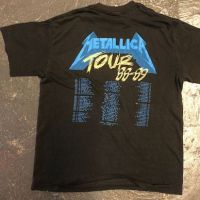 Metallica and Justice For All Tour 1989 Tour Shirt XL Spring Ford Black 8.jpg