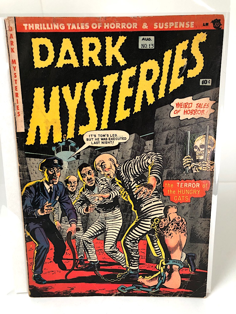 Dark Mysteries August no. 13 1953 Published by Masters Publication 1.jpg