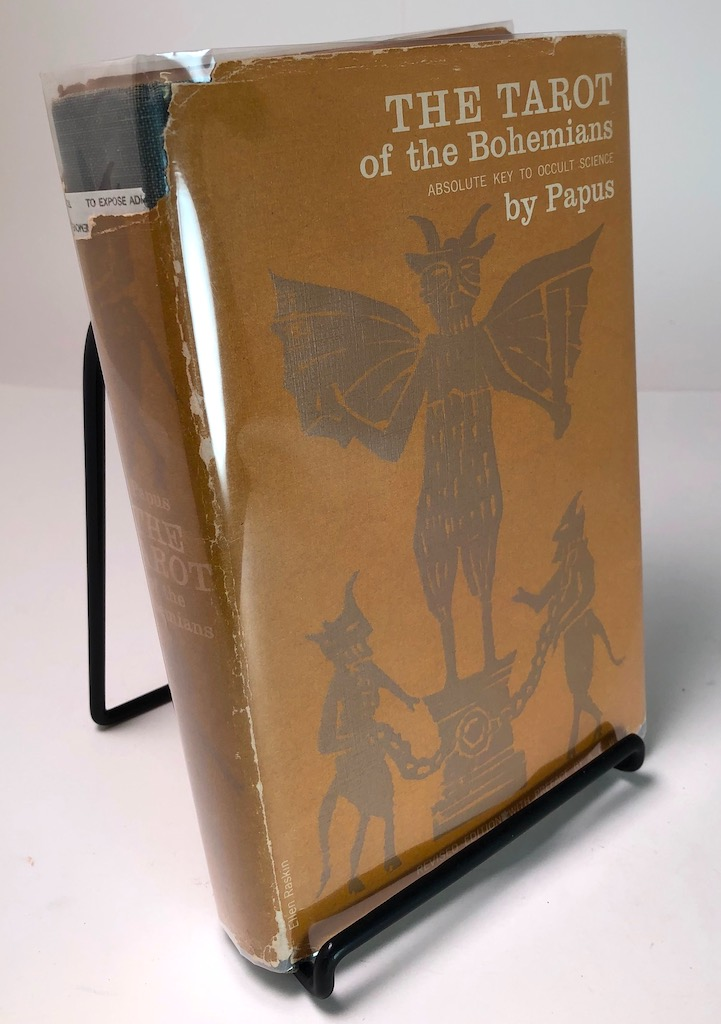 The Tarot of the Bohemians by Papus Published Arcanum Books 1965 3rd edition Hardback With DJ 5.jpg