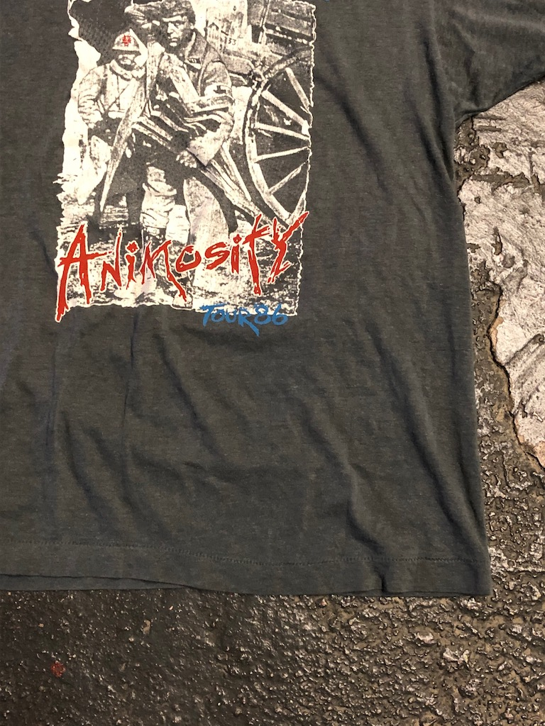 1986 Tour Shirt Corrosion of Conformity Animosity Tour Loss for Words T Shirt 6.jpg