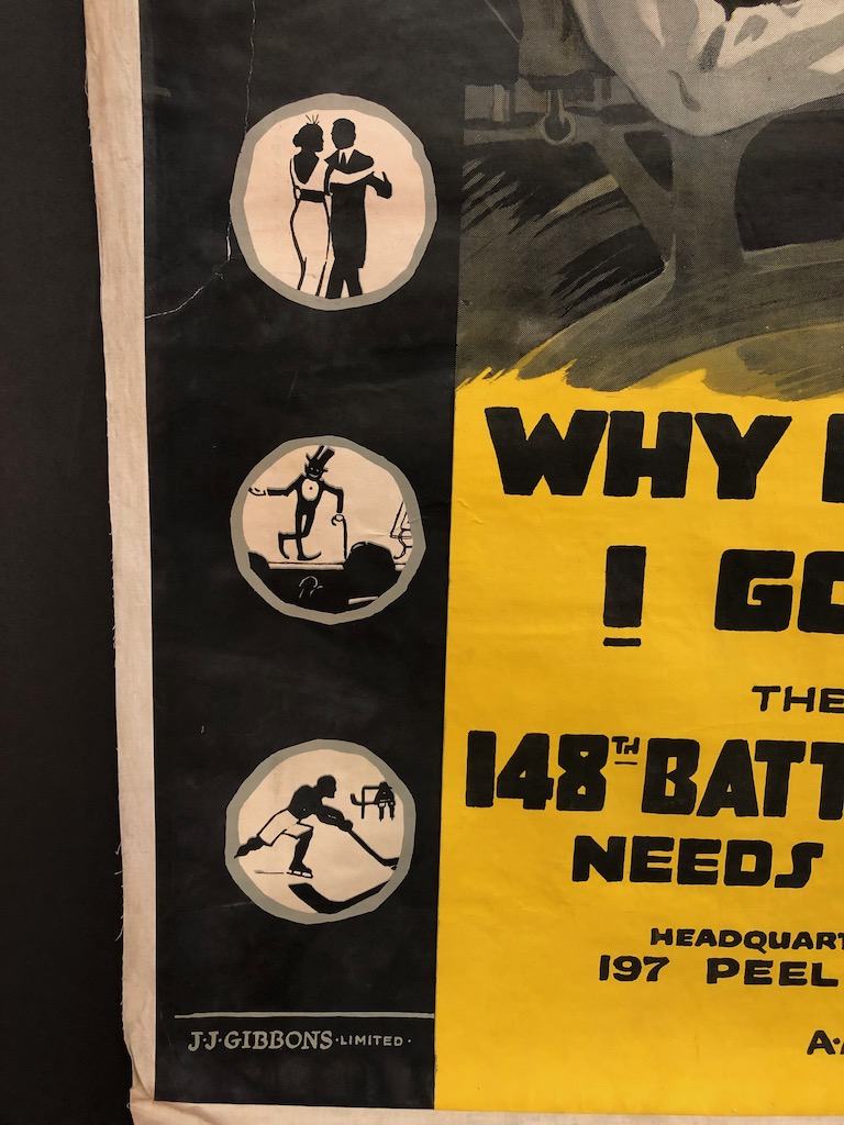 Why Don't I Go? 148th Battalion Needs Me Poster WWI 13.jpg