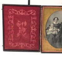 Early Half Plate Daguerrotype by Harvey R. Marks Blind Stamped Baltimore Photographer Circa 1850 1.jpg