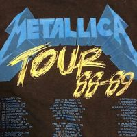 Metallica and Justice For All Tour 1989 Tour Shirt XL Spring Ford Black 10.jpg