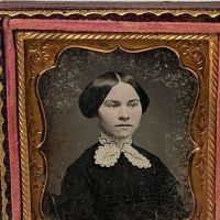 Ninth Plate Daguerreotype Hand Tinted Woman with Large White Lace Collar 2.jpg