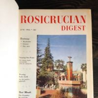 Rosicrucian Digest Magazine bound in hardback end boards 1.jpg