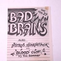 Sat. Feb. 27th 1982 Bad Brains with Necros Irving Plaza NYC Original Flyer 1.jpg
