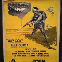 Why Don't They Come? Join 148th Battalion Montreal Poster WWI 23.jpg