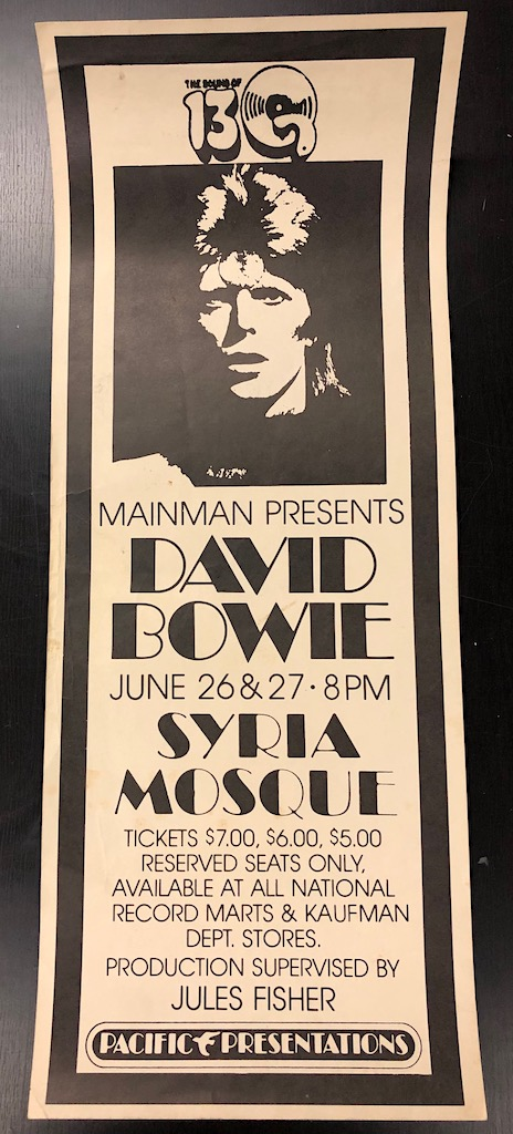 1974 David Bowie Tour Poster Syria Mosque June 26 and 27 1 .jpg