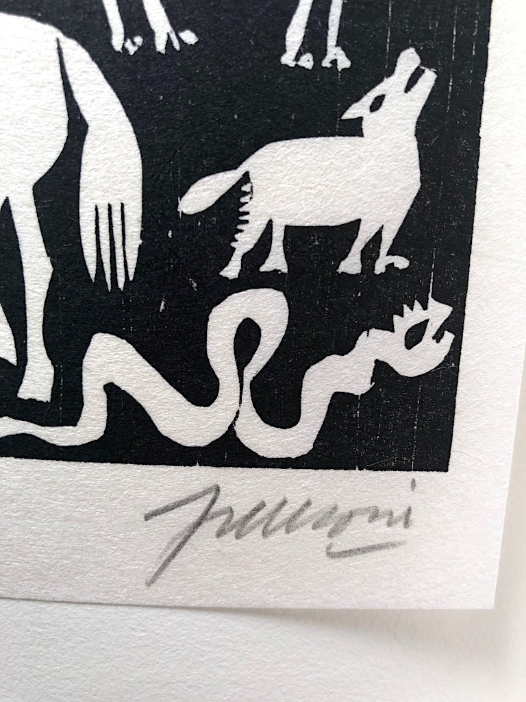 Bestiary Bestiario A Poem by Pablo Neruda and woodcuts by Antonio Frasconi 242:300 10.jpg