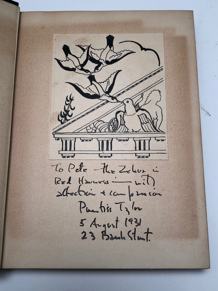 Why Bird Sing by Jacques Delamain 1st ed. hdbk Signed by Prentiss Taylor 6.jpg