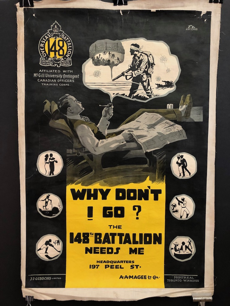 Why Don't I Go? 148th Battalion Needs Me Poster WWI 1.jpg
