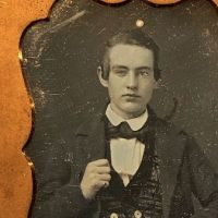 Daguerreotype of Young Dandy Posed with Style Ninth Plte Size Case Image 10.jpg