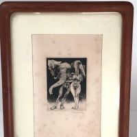 Jack Coughlin Grotesques Series Pencil Signed Etching 09.jpg